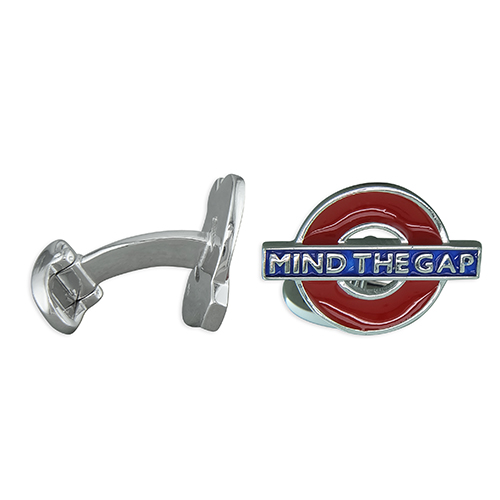 Mind The Gap cufflinks