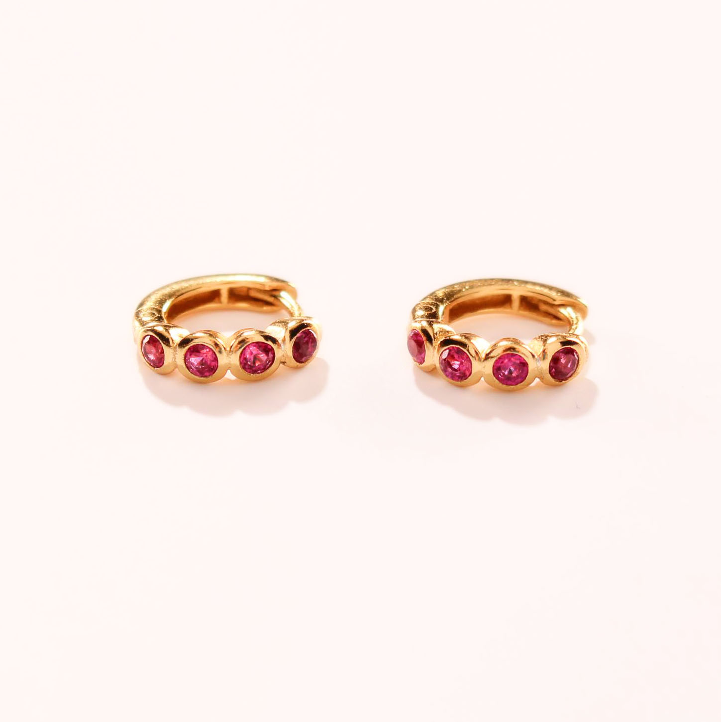 product photo romilly ruby pink bezel earrings 3 copy SQUARE