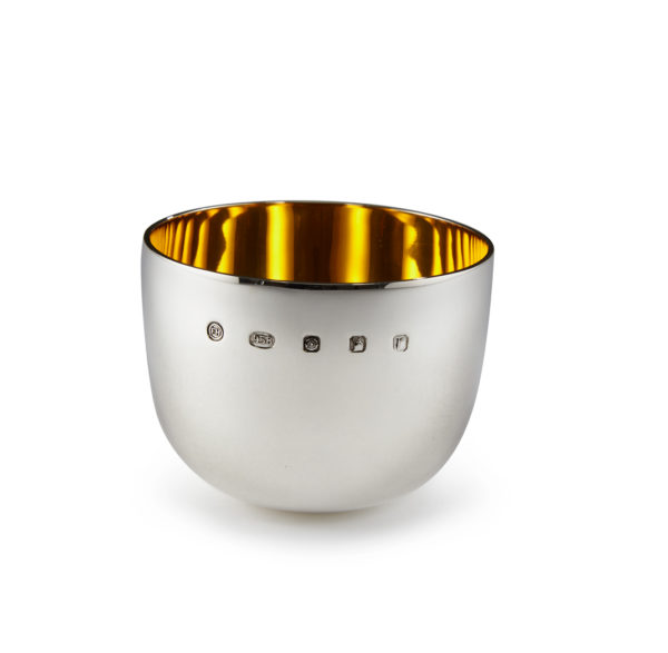 Silver Magpie silver gifts gilt cup